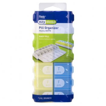 Ezy Dose Easy Fill 7 Day Pill Reminders and Organizers